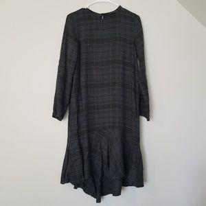 Zara midi dress small